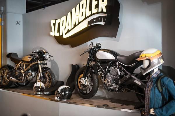 Ducati's new showcase store in NYC 2018 - Chris MacAskill (Baldy)