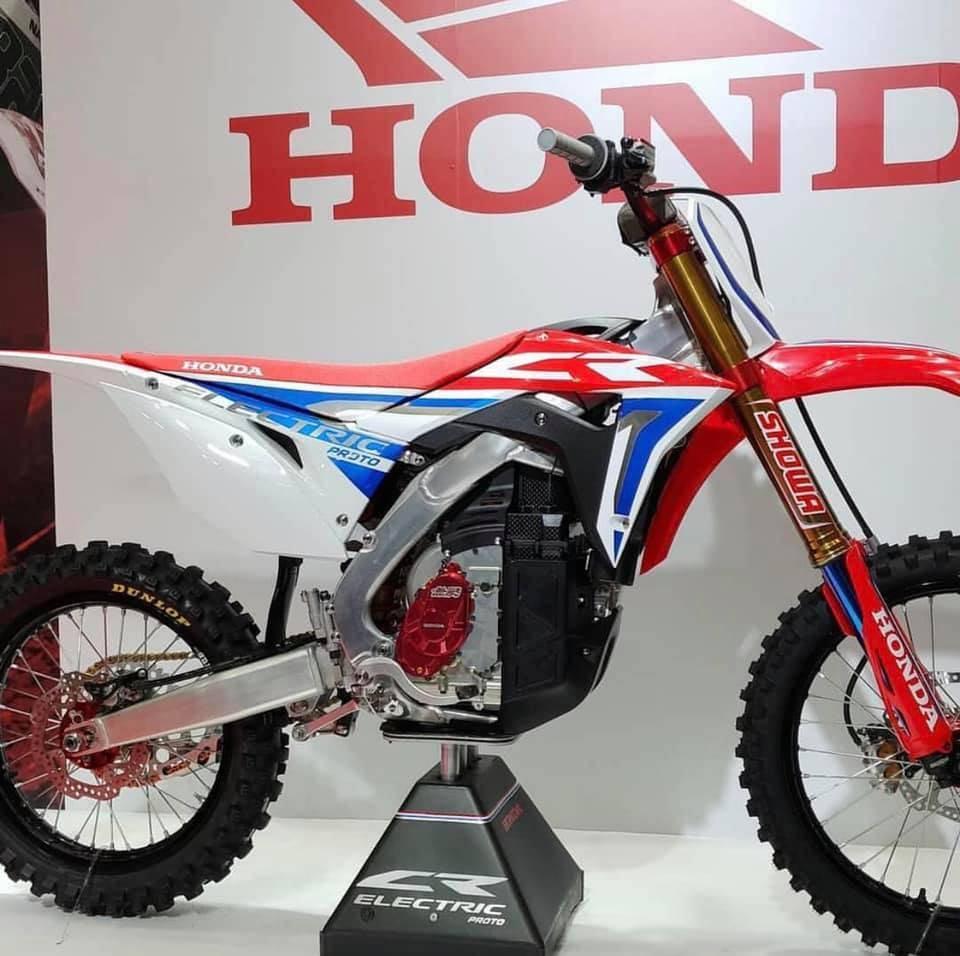 Finally Honda Has Electrified Their Crf 450 Motocross Bike Cake