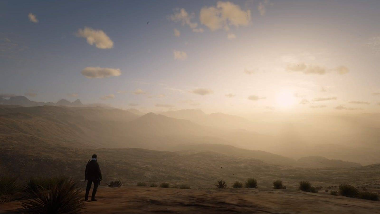 The fascinating Westworld style glitch in Red Dead