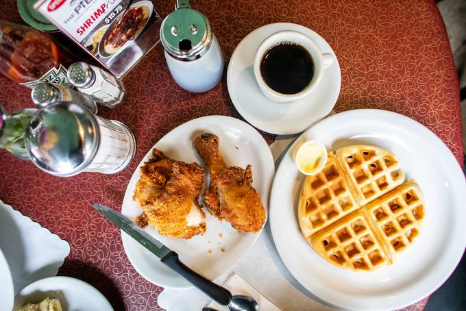 Chicken and Waffles, Lois the Pie Queen, Oakland, California
