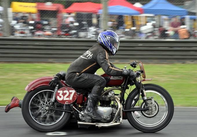 Triumph Sidecar Racer