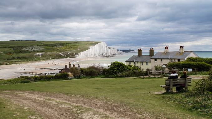 The Seven Sisters and Coastguard Cottages