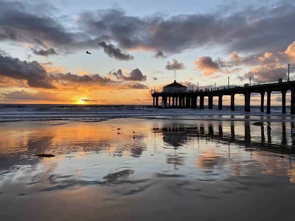 Manhattan Beach California sunset