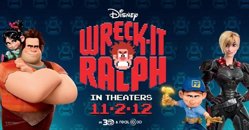 Wreck it Ralph - Original poster