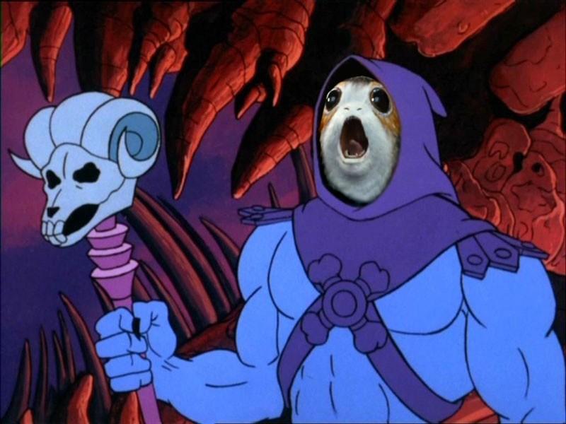 Skeletor Porg