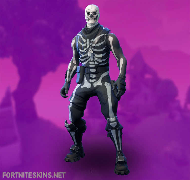 skull trooper fortnite skin - new arme fortnite png