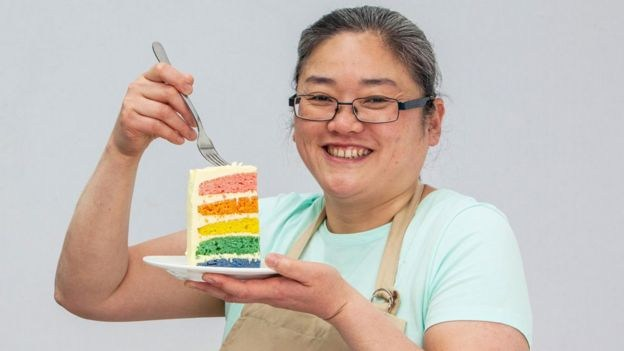 Yan from GBBO