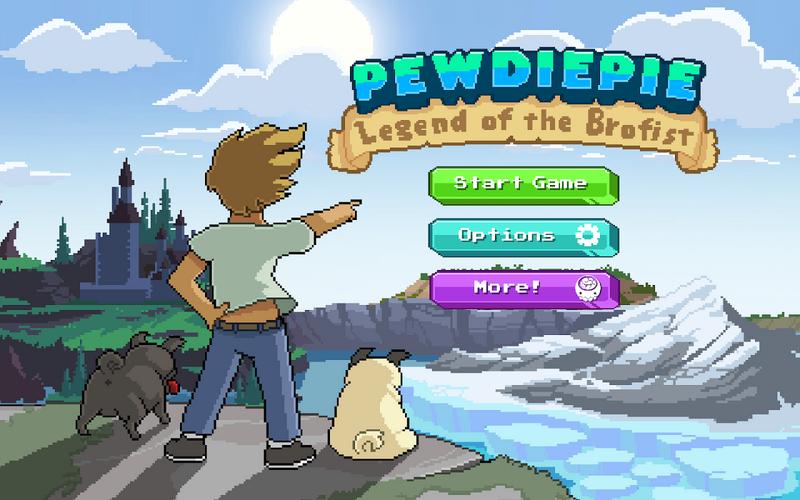 PewDiePie's Legend of the Brofist