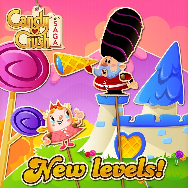 New Levels in Candy Crush