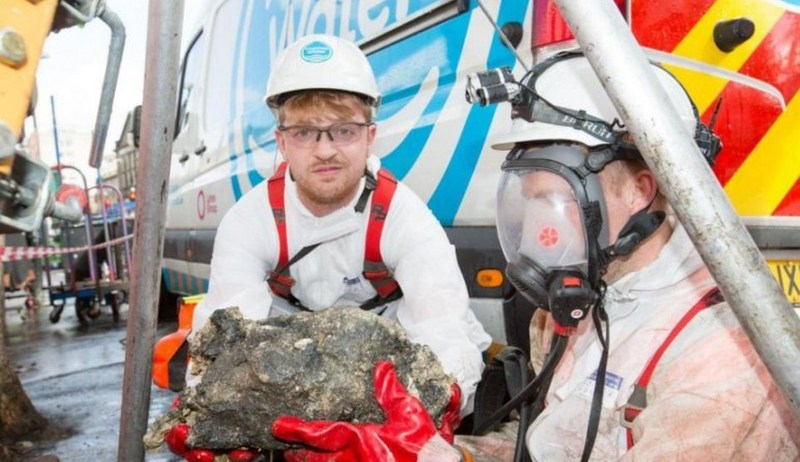 Face to face with the fatberg