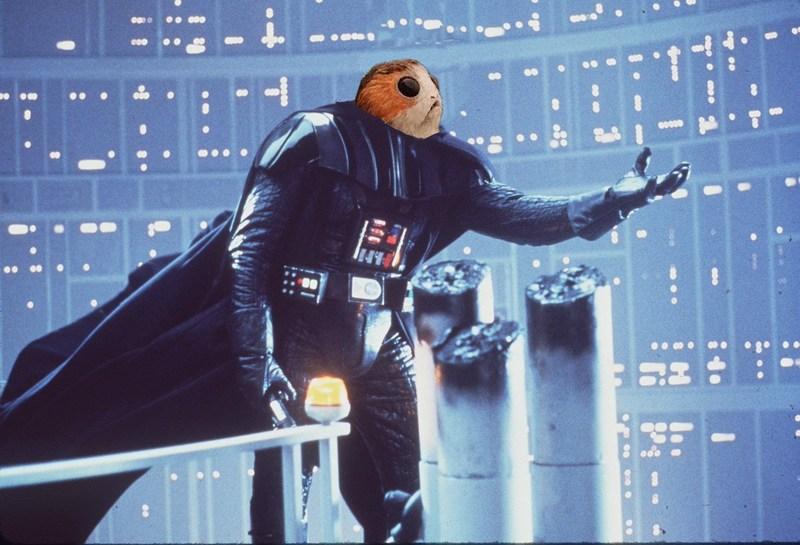 Porg Vader