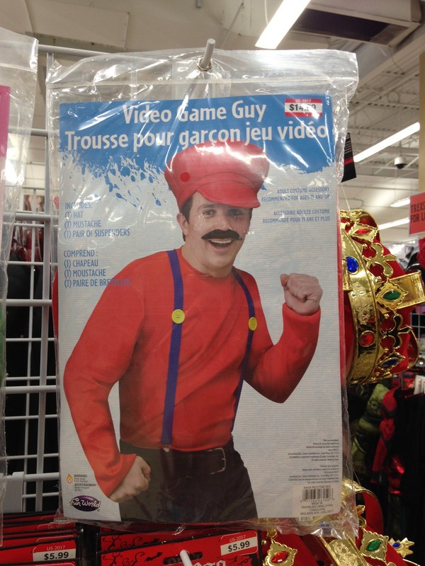 Video Game Guy but really it's Mario