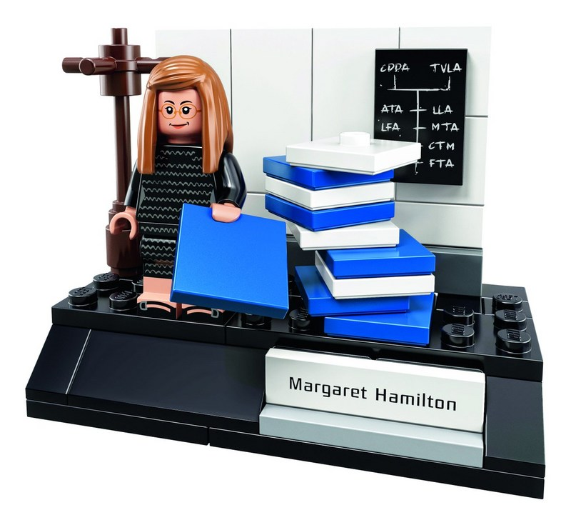 Margaret Hamilton as LEGO