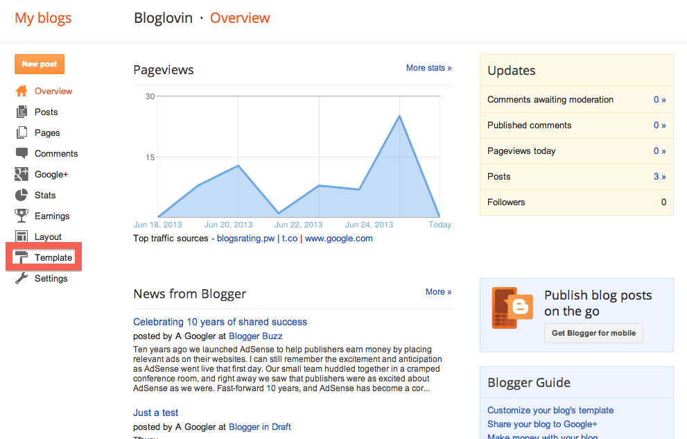 how to add a widget or icon to a blogger blogspot post help
