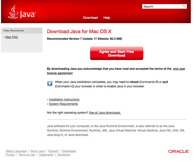 Java Vm Mac Download