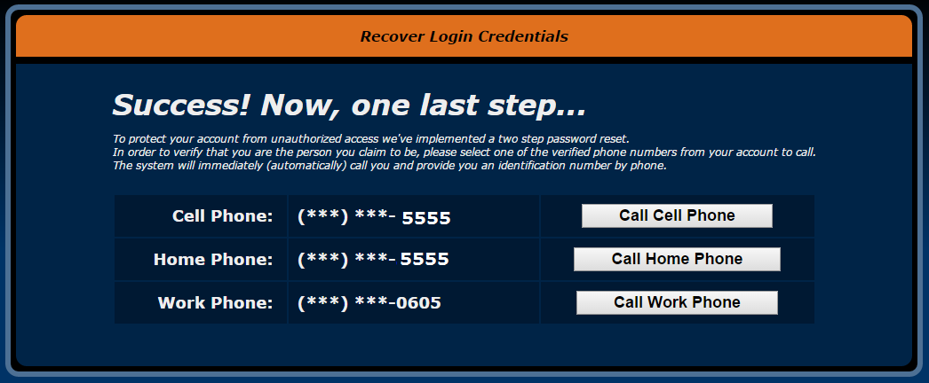 How to reset your username/password – New Feature Requests