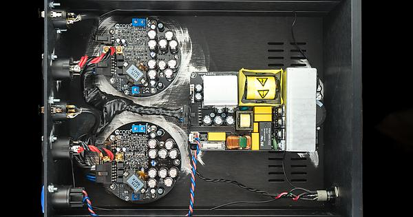 Just finished 3x stereo Hypex NC400 build : audiophile