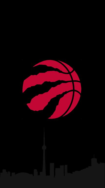 I made these raptors logo minimalist phone background with - Toronto raptors logo wallpaper ...