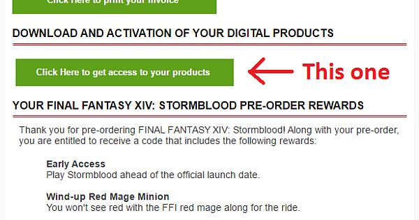 If You Purchased Stormblood From The Square Enix Online Store Your - Invoice format for services rendered square enix online store