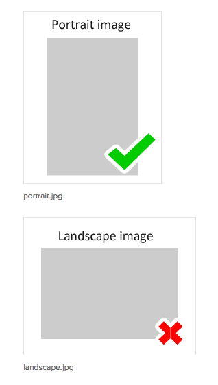 What Is A Portrait Image And What Is Landscape Casting Collective Artiste Help