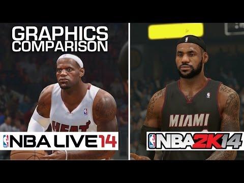 Xbox One Vs Ps4 Graphics Nba 2k14