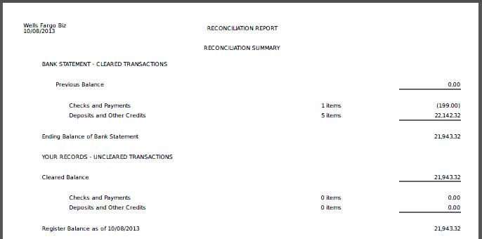 Automatic Bank Reconciliation Reports – Customer Feedback   Rentec ...