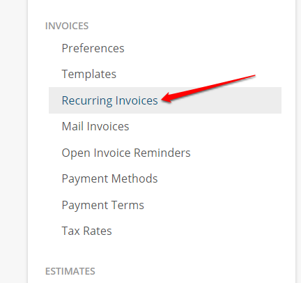 recurring invoices repairshopr help center