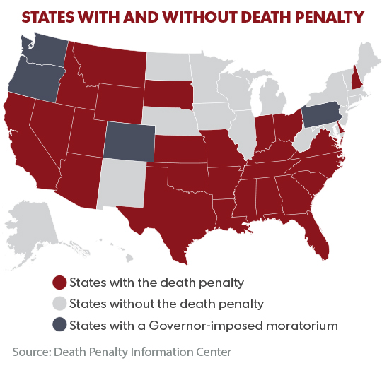 a moratorium of the death penalty should be enacted in illinois Illinois has had a moratorium on executions since george ryan was governor the illinois death penalty system is beyond flawed, which is why it has been on pause for the past 10 years since 1976, 13 death row inmates in illinois have been exonerated with dna evidence, but we are still one of 35 states that allows inmates to be sentenced to.
