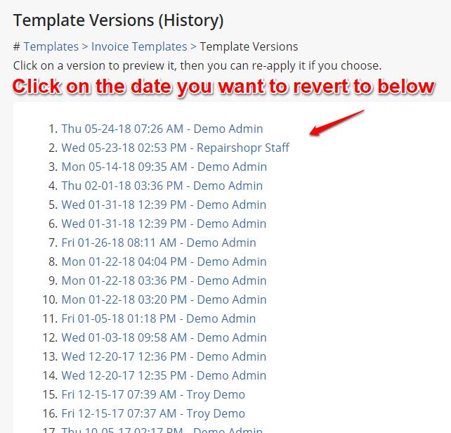 pdf email templates repairshopr help center