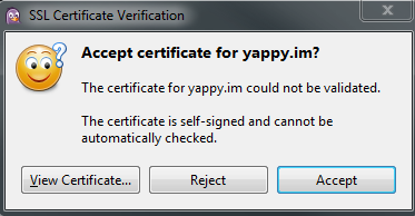 How to connect via XMPP (Jabber) – Yappy Support Portal