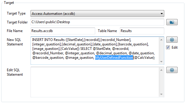 Submissions: Exporting To Sql Server, MySQL, Oracle, Access