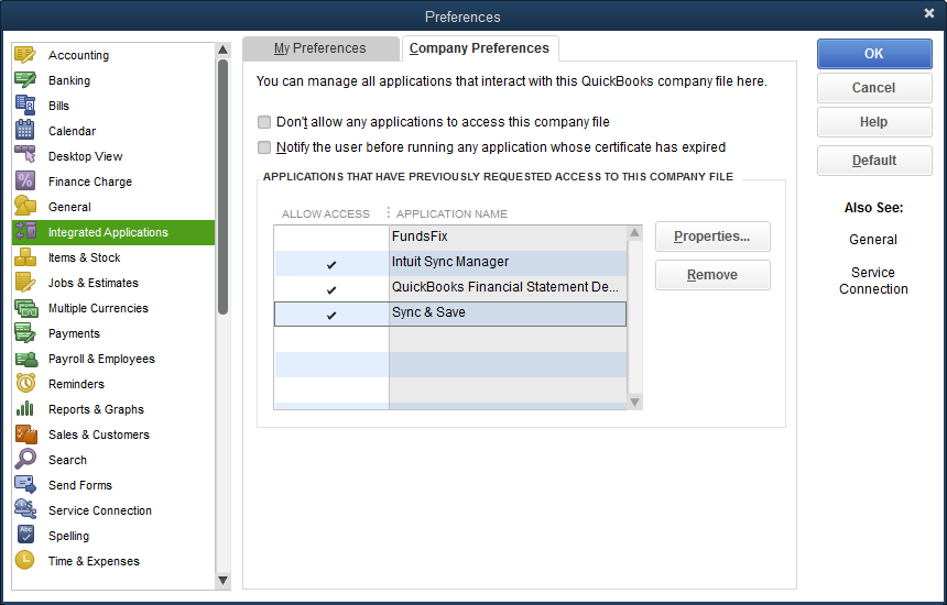 Connecting To QuickBooks – Customer support and feedback for