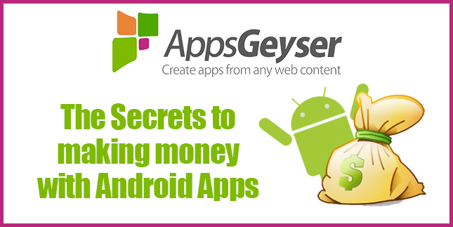 Secrets to making money with Android Apps - GrowthHackers