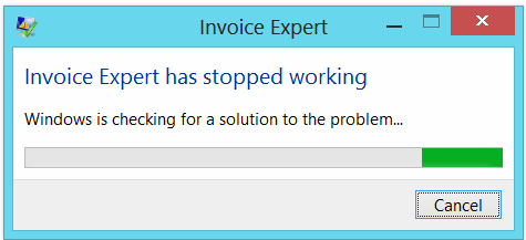 Doesn T Open Invoice Expert Has Stopped Working Help And