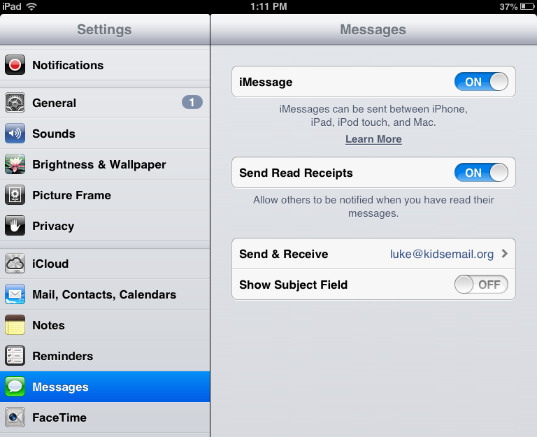 Using iMessage, Facetime, iCloud – Customer Feedback