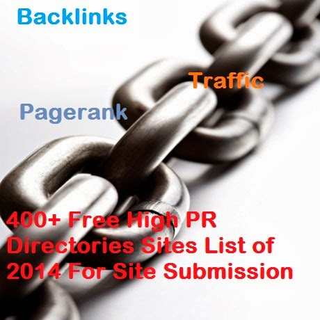 400+ Free High PR Directory Submission Sites List of 2016 -
