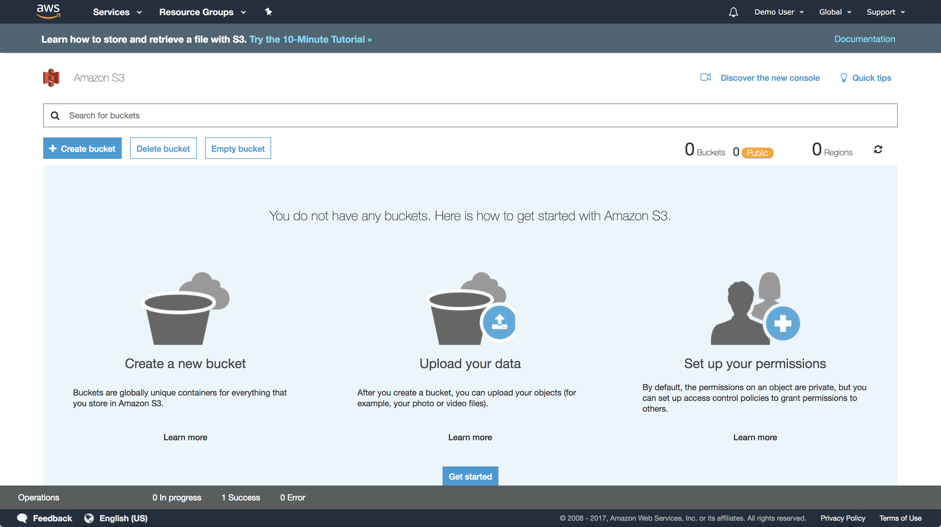 Getting Started with Amazon Web Services (AWS) – Customer Feedback