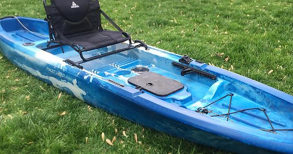 How to raise the seat on an ascend fs12t kayakfishing for Ascend fs12t fishing kayak