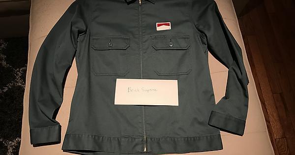 f231256c657b [FS] Teal Marlboro Work Jacket. Size L. 9.9/10 flawless. fuego for sale :  supremeclothing