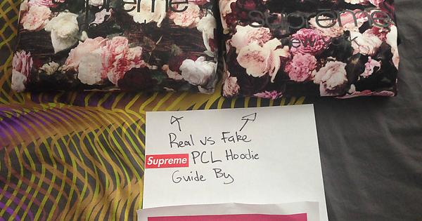 KamiKKazi s Real VS Fake Supreme PCL Hoodie Guide   supremeclothing 5aba7dc20