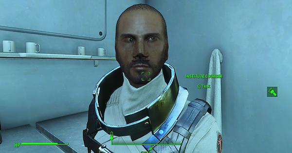 FO4] Has anyone ever seen this weird face glitch on