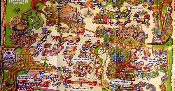 Knotts Berry Farm maps from 1970 and 2015 : ThemeParkMaps on disneyland map, oceans of fun map, legoland map, universal studios hollywood map, pink's hot dogs map, mt. olympus water & theme park map, kings dominion map, adventure city map, cedar point map, carowinds map, kings island map, ghost town in the sky map, california adventure map, magic kingdom map, kentucky kingdom map, islands of adventure map, wonderland park map, magic mountain map, canada's wonderland map, six flags map,