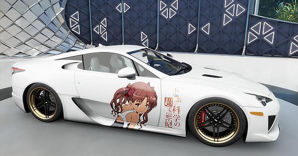 Kuroko horizon 3 anime decals forza
