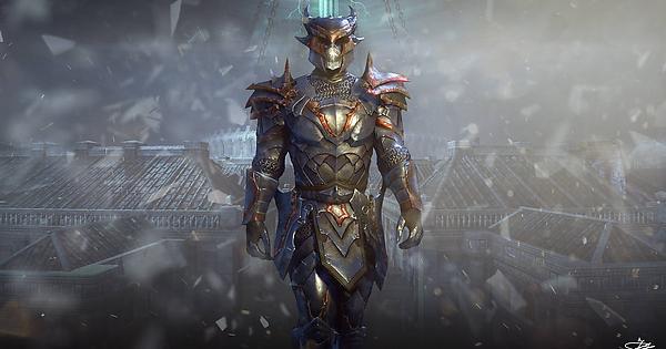Just Wanted To Share My Xivkyn Dreadguard Wallpaper Elderscrollsonline