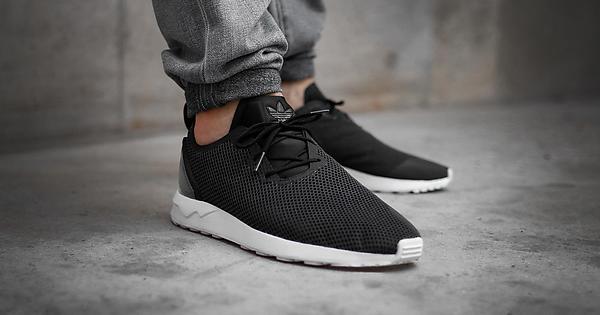 wholesale dealer 8335f b5667 Adidas ZX Flux ADV Asymmetrical - Black   Sneakers