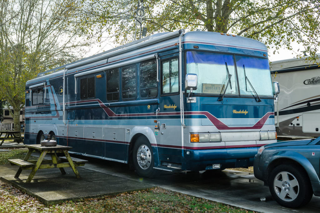 My 45k pounds of all steel 1992 Wanderlodge widebody : GoRVing