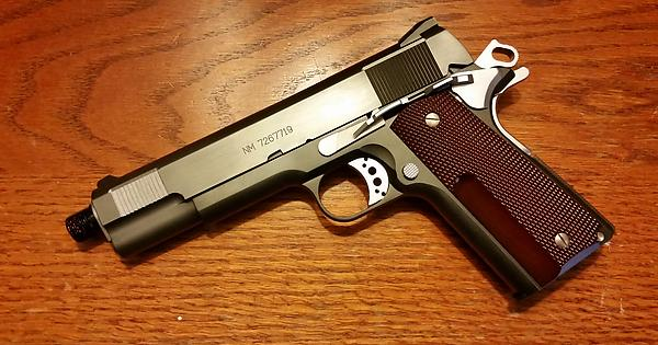 The newest addition to both my airsoft collection and my ... M1911 Custom Mgs4