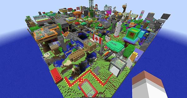 i found and converted this minecraft classic world from 2009 to 19 info in comments minecraft