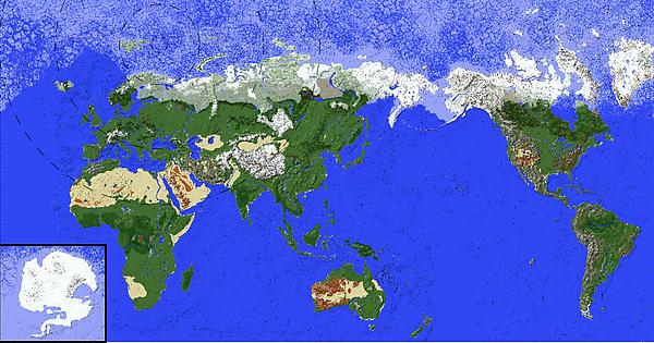 Complete earth map with custom ore generation and accurate biomes complete earth map with custom ore generation and accurate biomes world save in comments minecraft gumiabroncs Gallery