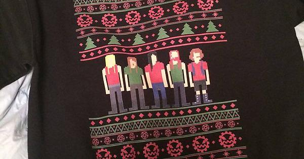 the most brutal christmas sweater metalocalypse - Metalocalypse Christmas Tree